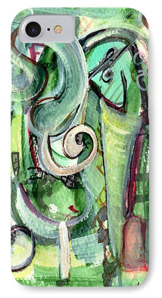 IPhone Case featuring the painting The Song by Stephen Lucas