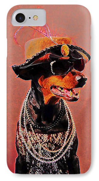 The Sophisticated Dobe IPhone Case