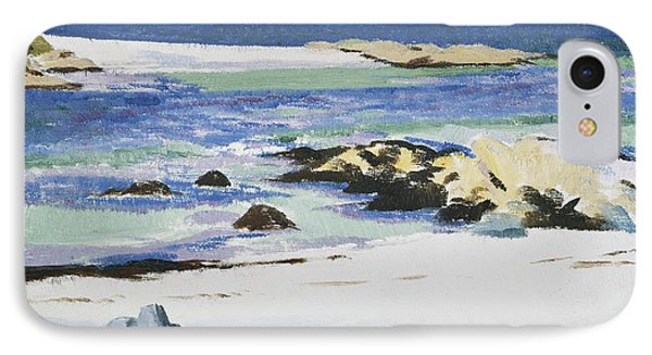 The Sound Of Mull From Iona IPhone Case by Francis Campbell Boileau Cadell