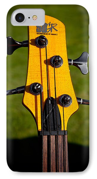 The Soundgear Guitar By Ibanez IPhone Case by David Patterson