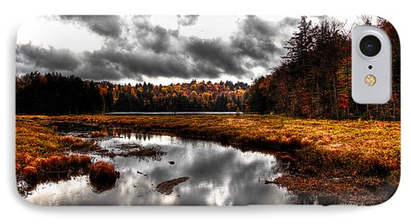 The South End Of Cary Lake Phone Case by David Patterson