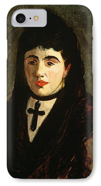The Spaniard IPhone Case by Edouard Manet