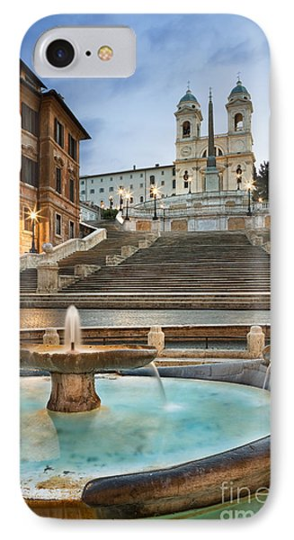 The Spanish Steps IPhone Case by Rod McLean