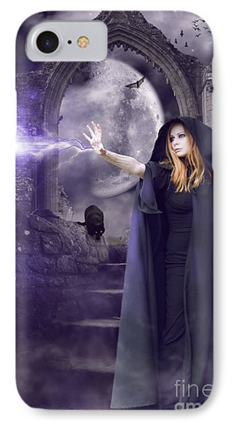 The Spell Is Cast IPhone Case by Linda Lees