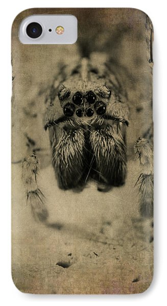 The Spider Series Xiii IPhone Case by Marco Oliveira