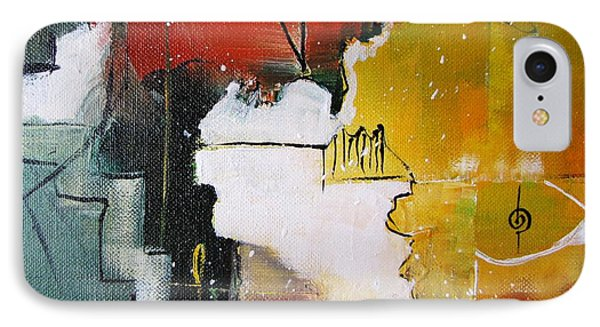 IPhone Case featuring the painting The Spirit by Gary Smith
