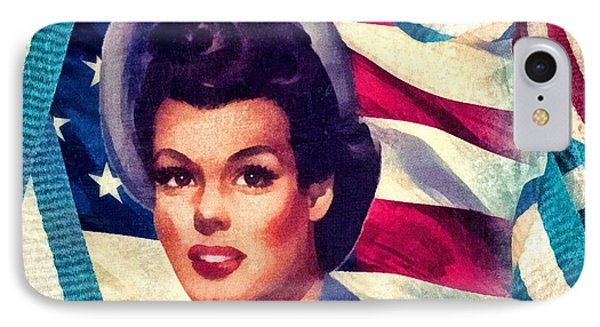 The Spirit Of America Phone Case by Mo T
