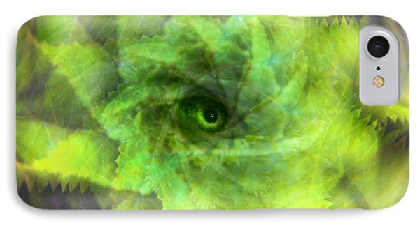 IPhone Case featuring the digital art The Spirit Of The Jungle by Martina  Rathgens