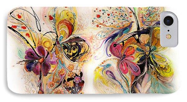 The Splash Of Life Series No 23 IPhone Case by Elena Kotliarker