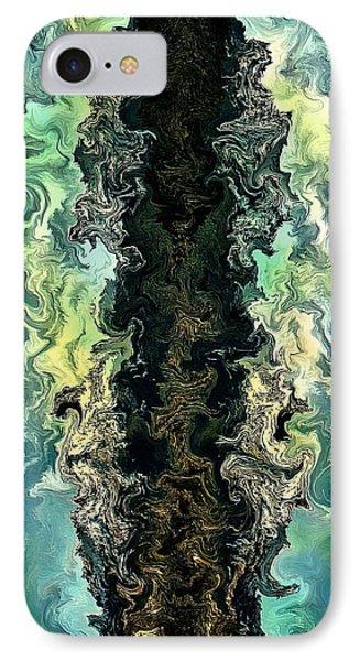 The Split By Rafi Talby Phone Case by Rafi Talby
