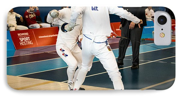 The Sport Of Fencing 1 IPhone Case