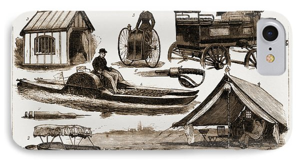The Sportsmans Exhibition At The Agricultural Hall IPhone Case by Litz Collection