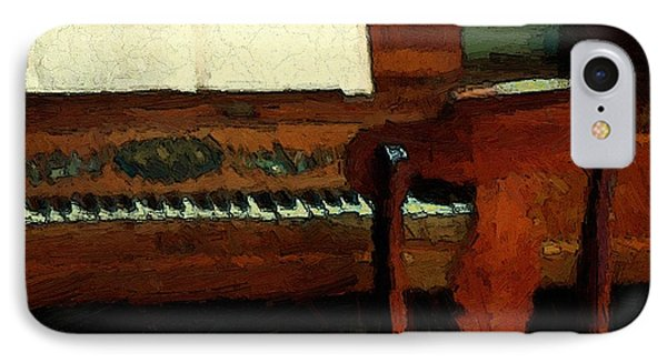 The Square Piano Phone Case by RC DeWinter