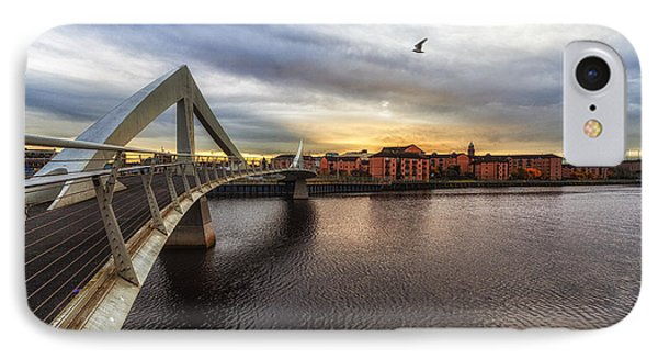The Squiggly Bridge Phone Case by John Farnan