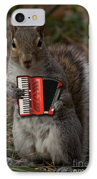 The Squirrel And His Accordion IPhone Case
