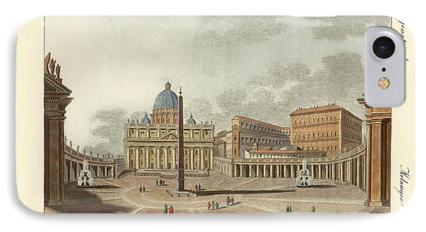 The St. Peter's Cathedral In Rome Phone Case by Splendid Art Prints