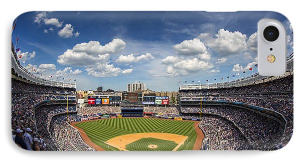 Yankee Stadium iPhone 7 Case - The Stadium by Rick Berk