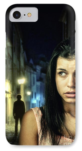 The Stalker IPhone Case by Carlos Caetano