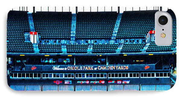 The Stands At Oriole Park IPhone Case by Bill Cannon