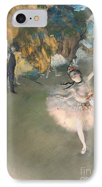 The Star Or Dancer On The Stage IPhone Case by Edgar Degas