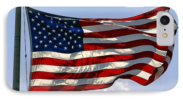 The Star Spangled Banner IPhone Case by Daniel Hagerman