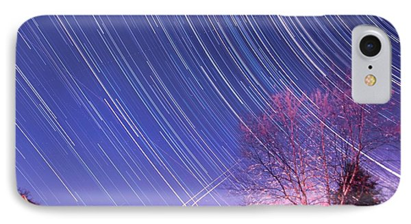 The Star Trails IPhone Case by Paul Ge