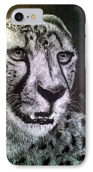 The Stare IPhone Case by Michelle Pope