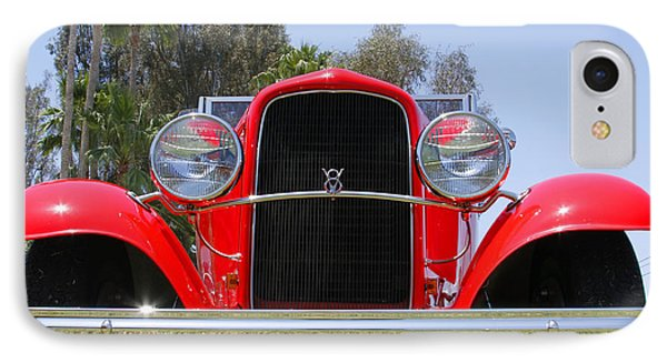 IPhone Case featuring the photograph The Stare Of A V8 by Shoal Hollingsworth