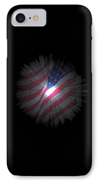 The Stars And Stripes IPhone Case by Jeff Swan