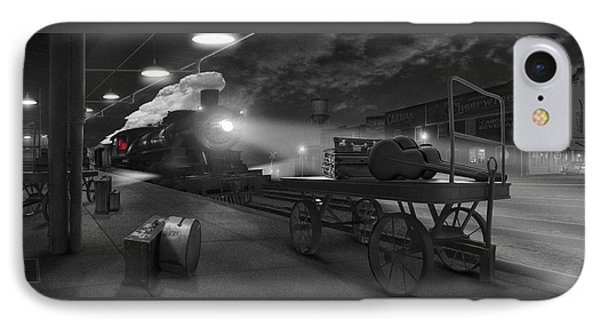 The Station - Panoramic IPhone Case by Mike McGlothlen