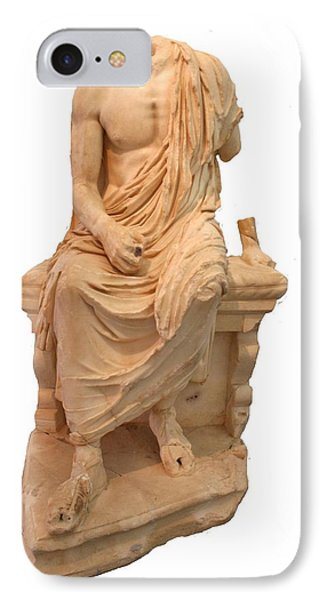 The Statue Of The Unidentified Philosopher Phone Case by Tracey Harrington-Simpson