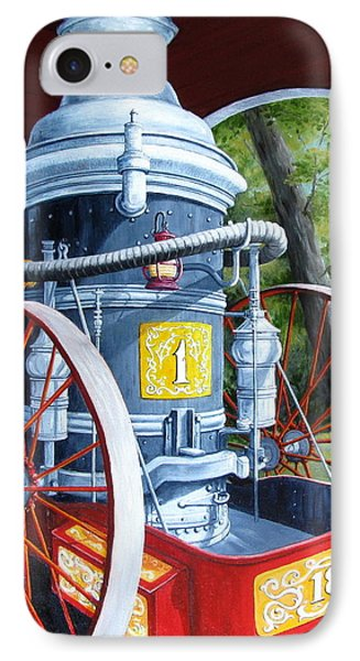 The Steamer Phone Case by Tanja Ware