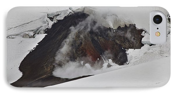 The Steaming Eyjafjallajoekull IPhone Case