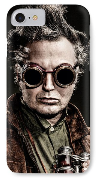 The Steampunk - Sci-fi Phone Case by Gary Heller
