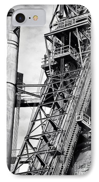 The Steel Mill Phone Case by John Rizzuto