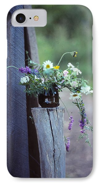 The Still Life Of Wild Flowers Phone Case by Patricia Keller