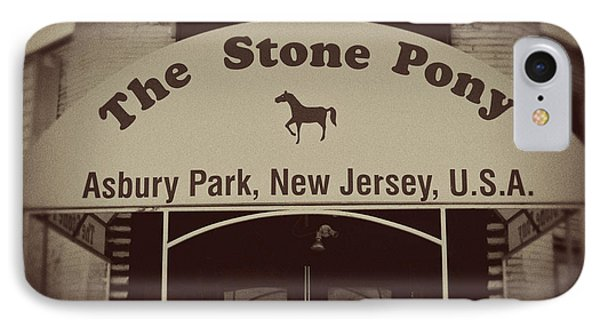 The Stone Pony Vintage Asbury Park New Jersey IPhone Case by Terry DeLuco
