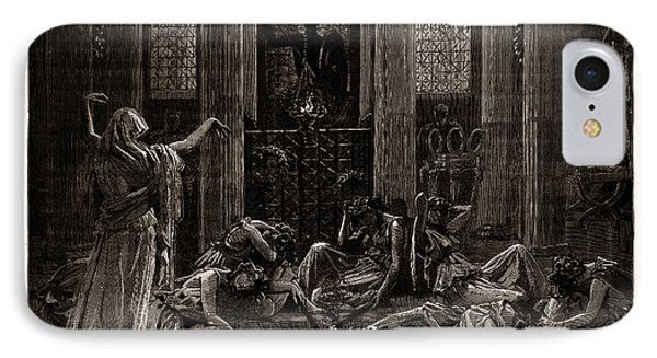 The Story Of Orestes, At The Princes Hall IPhone Case by Litz Collection