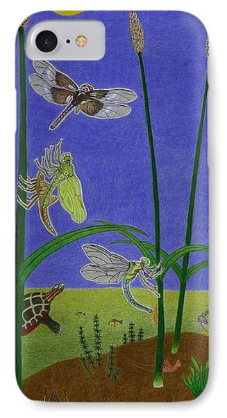 The Story Of The Dragonfly With Description IPhone Case