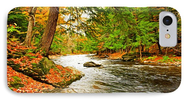 IPhone Case featuring the photograph The Stream by Bill Howard