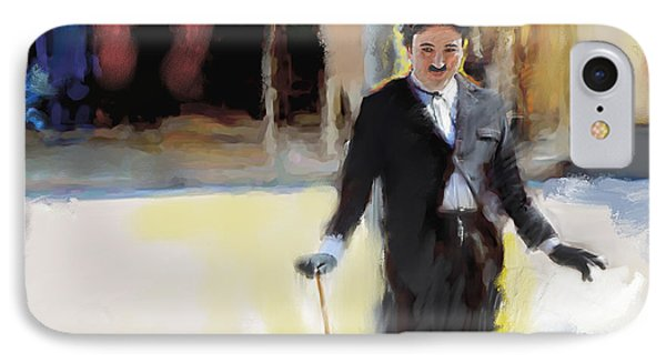 The Street Entertainer IPhone Case by Ted Azriel