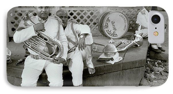 The Street Musicians IPhone Case by Shaun Higson