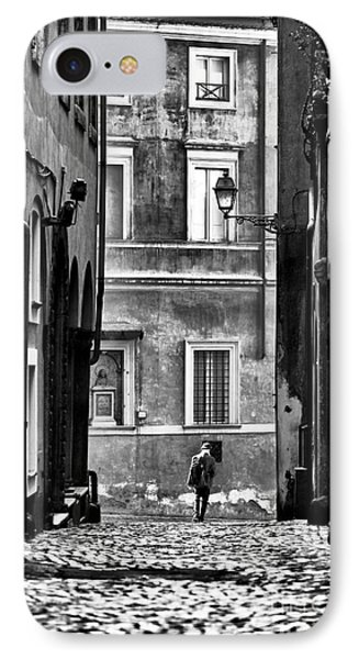 The Streets Of Roma Phone Case by John Rizzuto