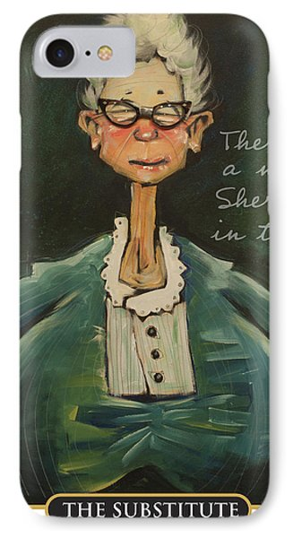 The Substitute - New Sheriff IPhone Case by Tim Nyberg