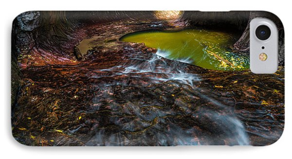 The Subway At Zion National Park IPhone Case by Larry Marshall