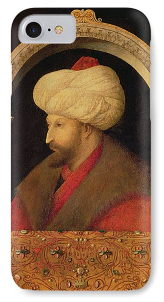 The Sultan Mehmet II 1432-81 1480 Oil On Canvas IPhone Case