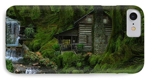 The Summer Cottage Phone Case by Lynn Jackson