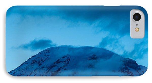 The Summit Mt Rainier IPhone Case by Steve Gadomski