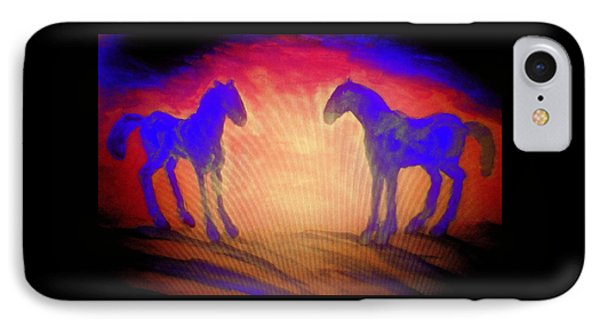The Sun Also Rises And A New Day Will Come  IPhone Case by Hilde Widerberg