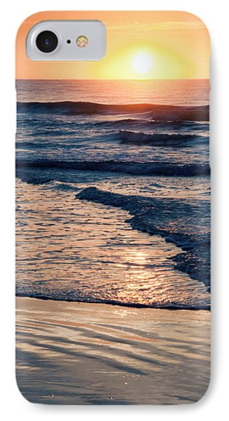 Sun Rising Over The Beach IPhone Case by Vizual Studio